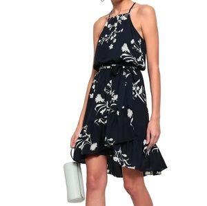 Joie Blue silk floral dress